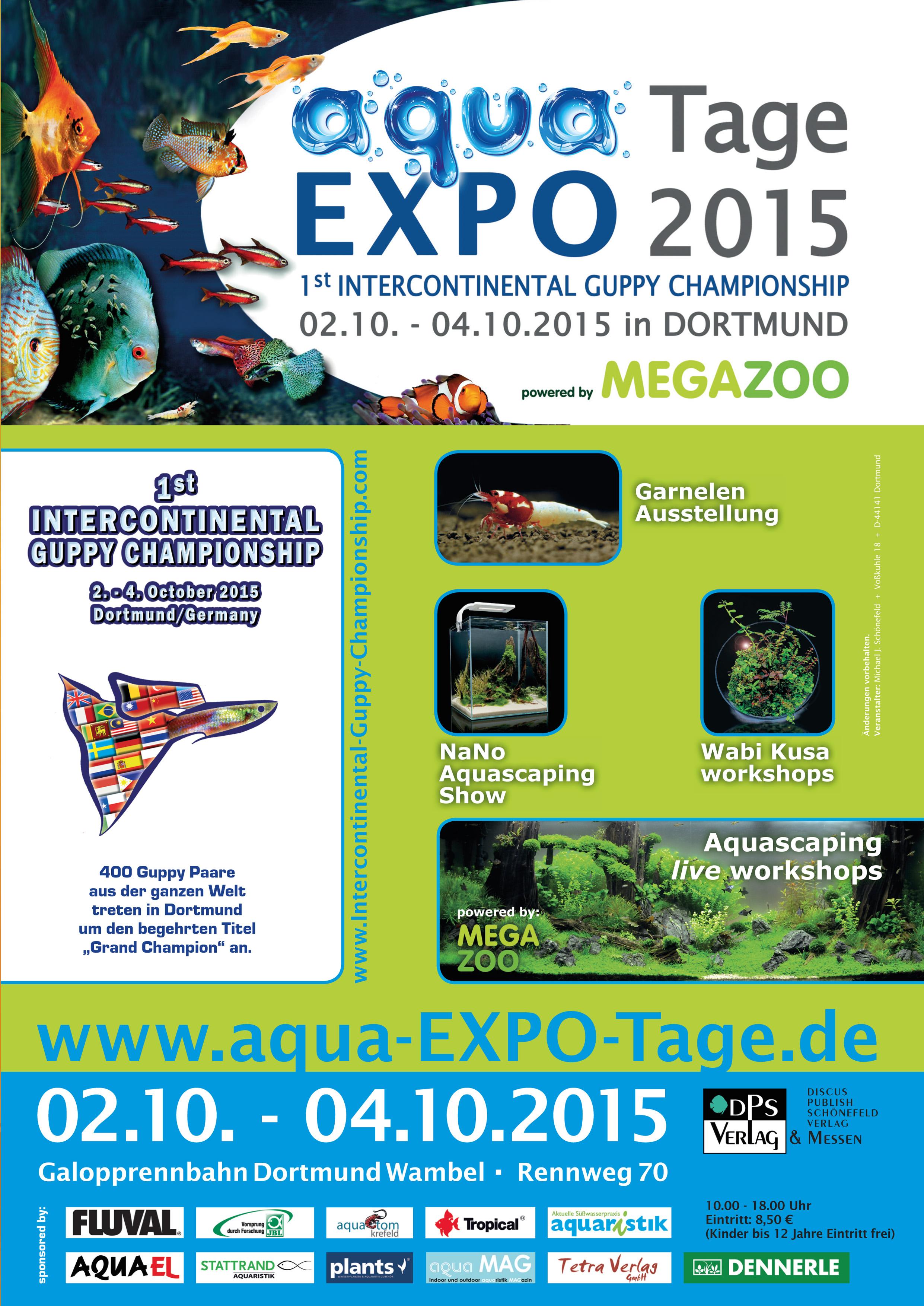 Aqua Expo Tage 2015 Medien Aquascaping Forum