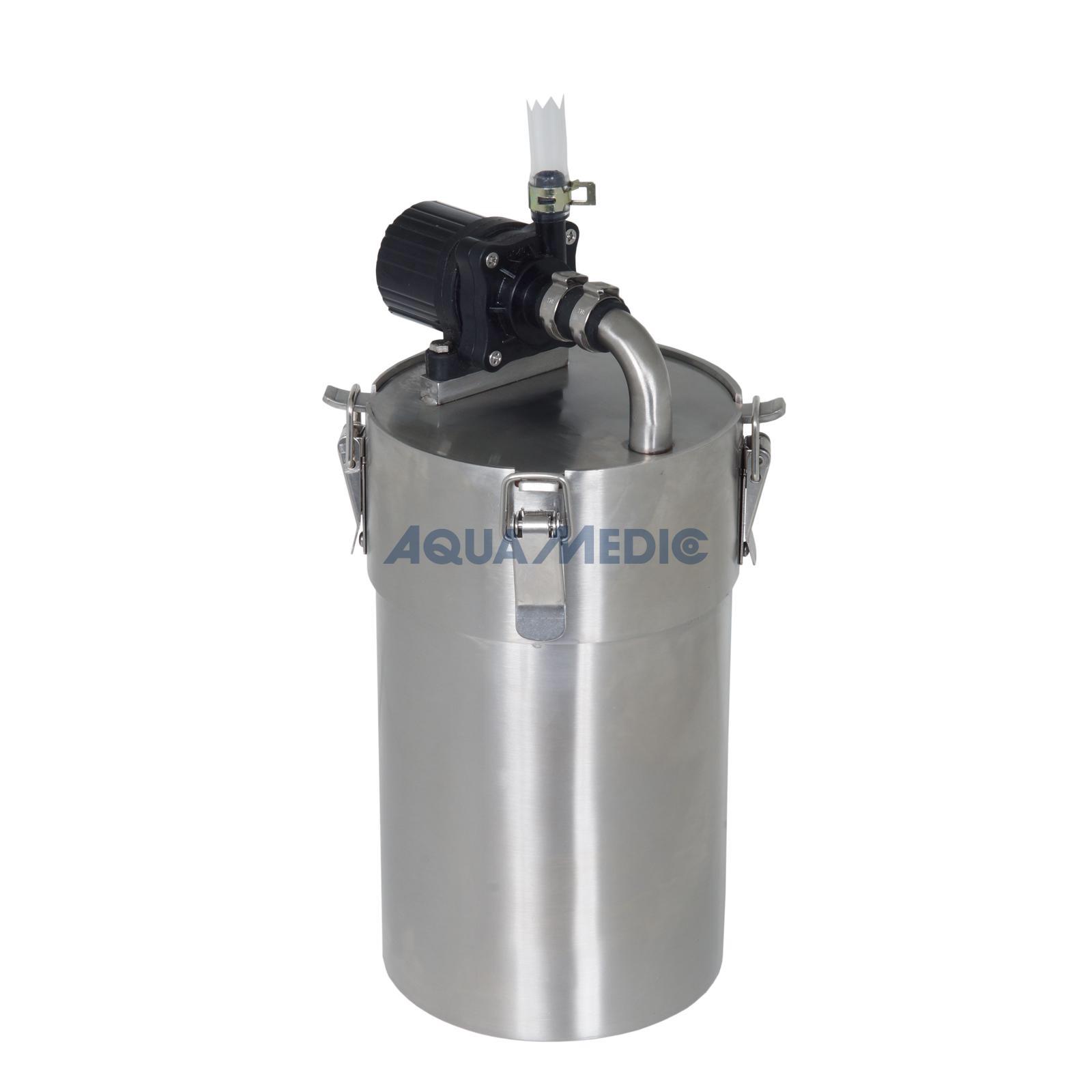 aqua medic aquafresh 50 edelstahl aussenfilter filterung heizung aquascaping forum. Black Bedroom Furniture Sets. Home Design Ideas