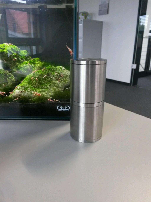 projekt nano edelstahl au enfilter filterung heizung aquascaping forum. Black Bedroom Furniture Sets. Home Design Ideas
