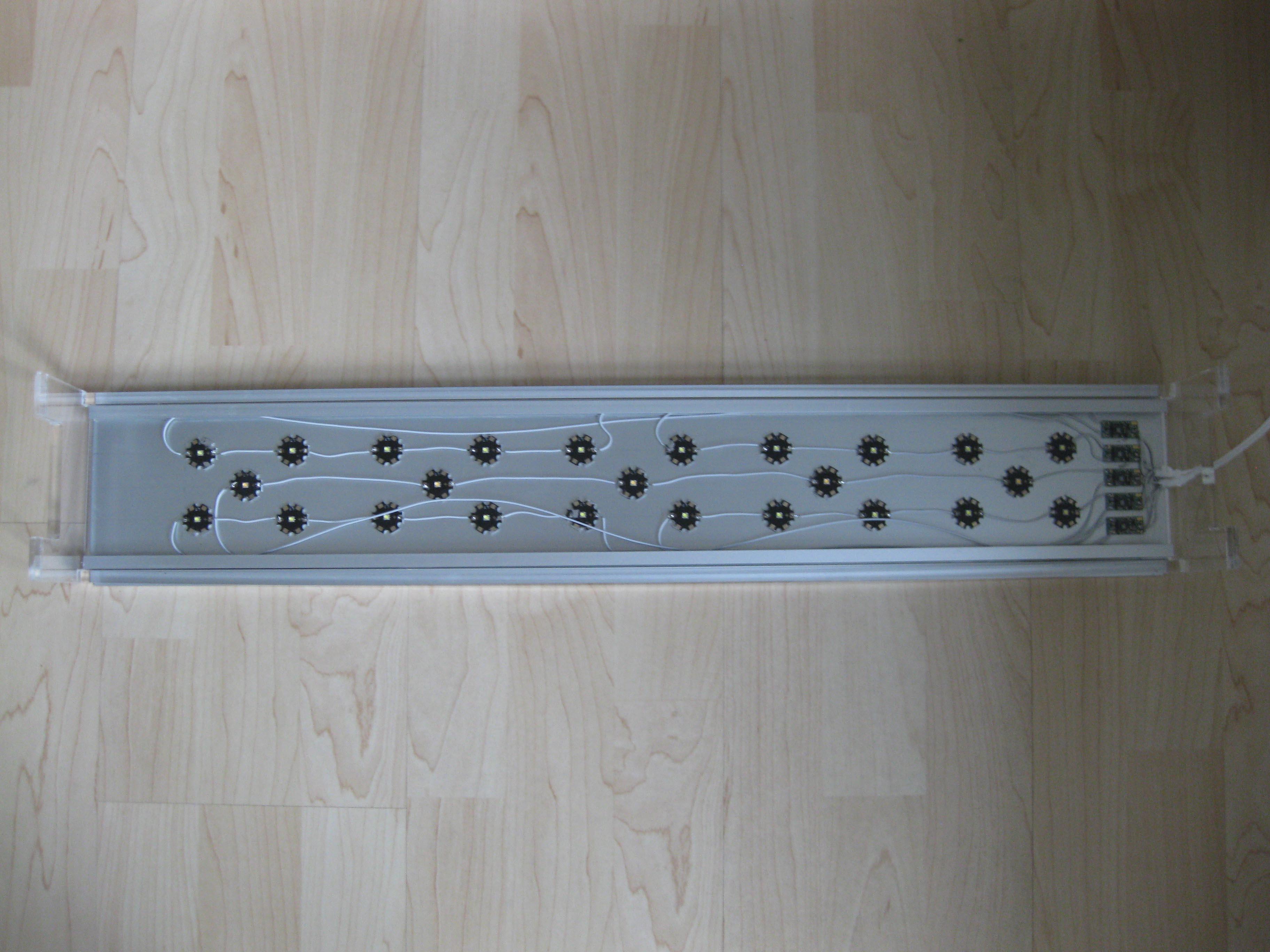 Led Wohnzimmerlampe Selber Bauen DIY LED Lampe Seite